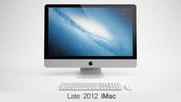iMac Late 2012 3D Model