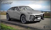 Lamborghini Urus std mat 3D Model