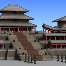 Chinese Architecture 09 3D Model