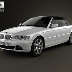 BMW 3 Series convertible (E46) 2004 3D Model
