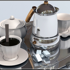 Coffee break 3D Model