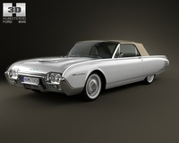 Ford Thunderbird 1961 3D Model