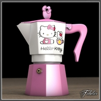 Hello Kitty moka 2 3D Model