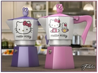 Hello Kitty moka collection 3D Model
