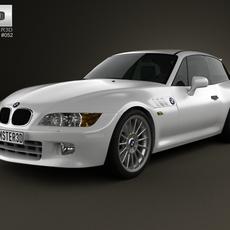BMW Z3 coupe (E36/8) 1999 3D Model