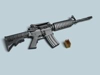 M4a1  3D Model