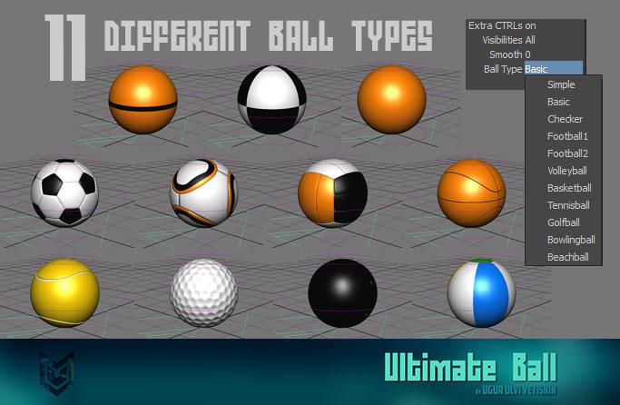 ultimate ball for maya