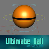 Free Ultimate Ball for Maya 1.0.1