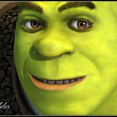 Shrek 3D Model