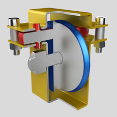 Weight system 3D Model