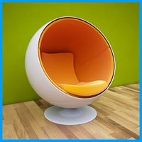 egg chair  3D Model