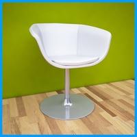 leather armchair 3 3D Model
