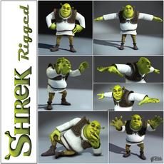 Shrek rigged 1.0 3D Model