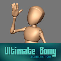 Ultimate Bony 1.0.5 for Maya