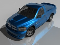 Dodge Ram SRT-10 3D Model