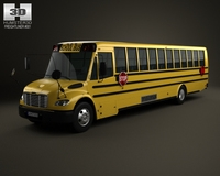 Thomas Minotour School Bus 2012 3D Model