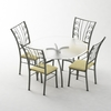 06 53 49 880 5 pc dining set 4