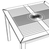 06 54 28 720 exterior bar table preview 45 wire 4