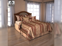 Ashley Fairbrooks Estate Panel bed 3D Model