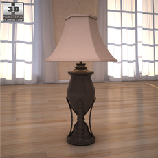 Ashley Fairbrooks Estate Table Lamp 3D Model