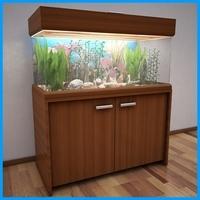 Aquarium Cabinet V1 3D Model