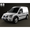 Ford Transit Connect LWB 2012 3D Model