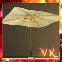 Outdoor Umbrella Parasol 3D Model