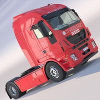 New IVECO Hi-Way 3D Model