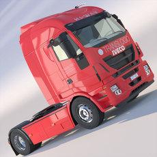 New IVECO Hi-Way 3D Model