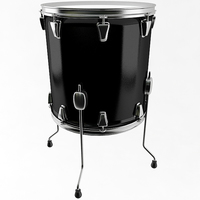 Floor Tom Drum 3D Model