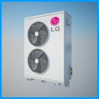 Air Conditioner LG 3D Model