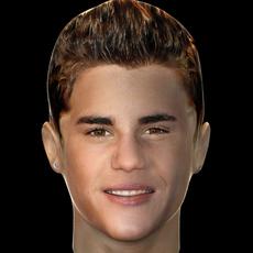 Justin Bieber 3D Model