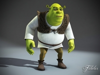 SHREK std mat 3D Model