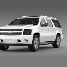 Chevrolet Suburban 75th Diamond Edition 3D Model