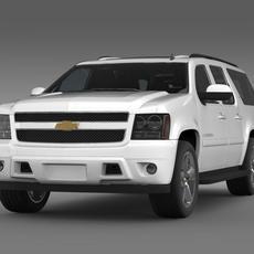 Chevrolet Suburban LTZ 2011 3D Model