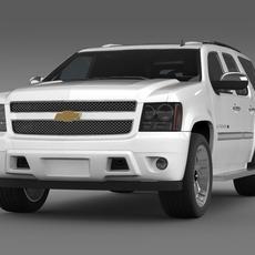 Chevrolet Tahoe XFE 2008  3D Model