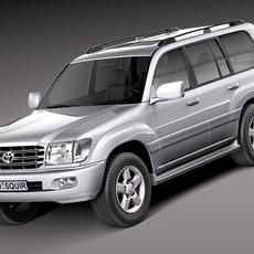 Toyota Land Cruiser J100 1997-2007 3D Model