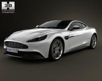 Aston Martin Vanquish 2012 3D Model