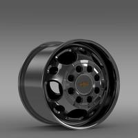 Chevrolet Silverado 2500HD2wd crew 2008 rim 3D Model