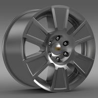 Chevrolet Silverado RegularCab 2007 rim 3D Model