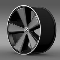 E Bugster Concept 2012 rim 3D Model
