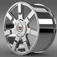 Cadillac Escalade esv 2wd2 rim 3D Model