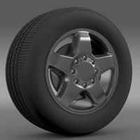 Chevrolet Silverado 2500HD LTZ 2011 3D Model