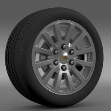 Chevrolet Tahoe Hybrid 2012 wheel 3D Model