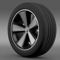 E Bugster Concept 2012 wheel 3D Model