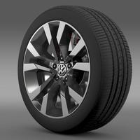 VW Beetle TDI 2012 wheel 3D Model