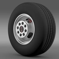 GMC Sierra 3500HD 2008 wheel 3D Model
