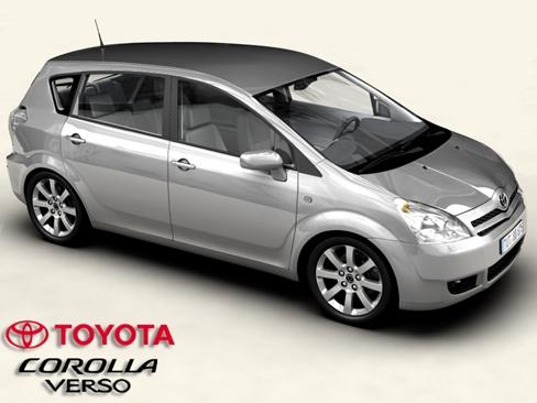 Toyota Corolla Verso 3D Model