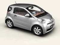 Toyota IQ 3D Model