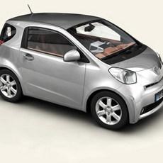Toyota IQ 3D Model